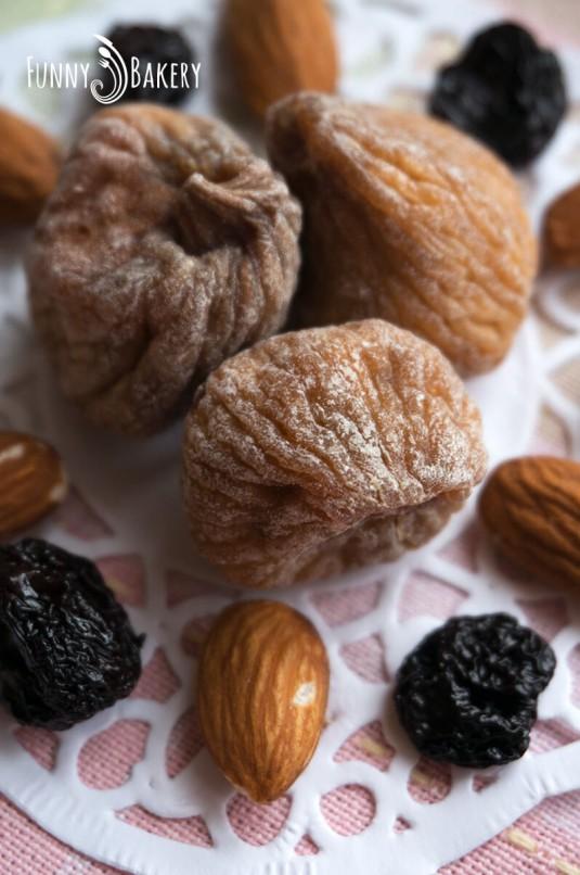 Италианско шоколадово 'Тороне' - сушени плодове