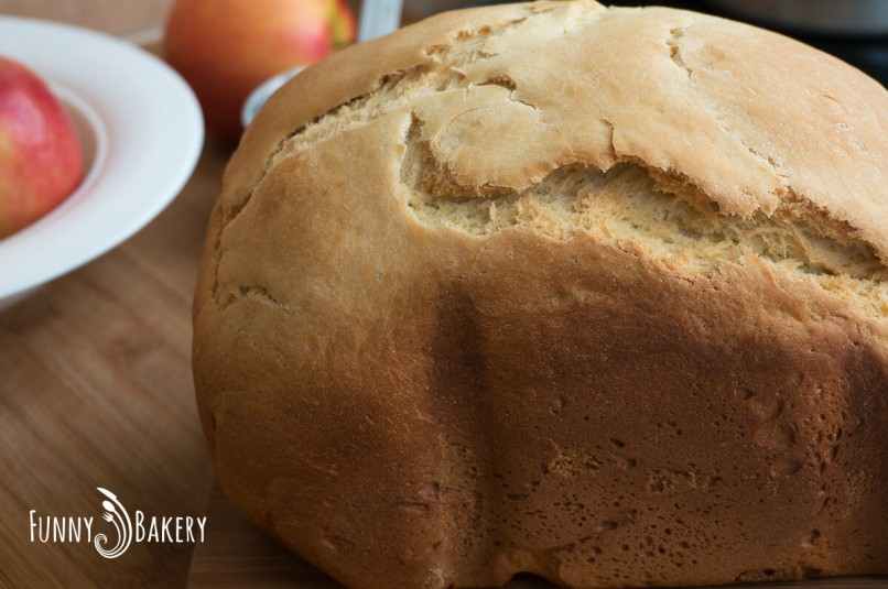 Хляб в хлебопекарна машина - в профил