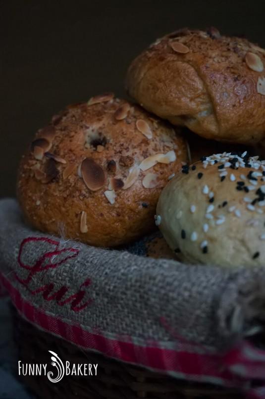 Бейгъли или иначе казано хлебни гевречета - в панер