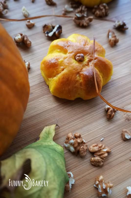 Дунапренени тиквени кифлички - есен