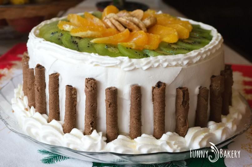 Цитрусова – плодова торта - профил