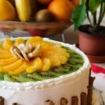 Цитрусова – плодова торта