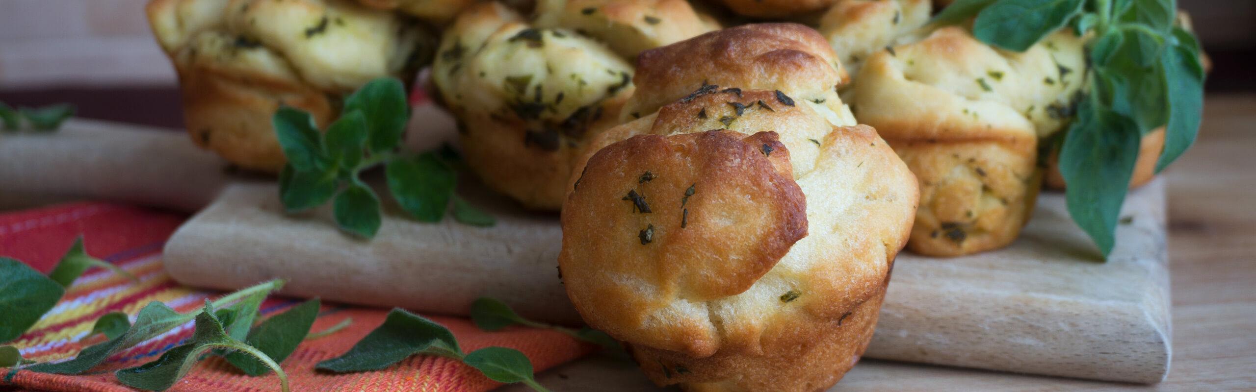 Хлебчета с пресни билки