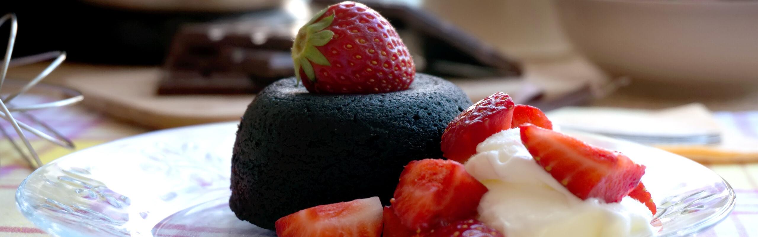 Шоколадово Суфле или иначе казано Лава кейк