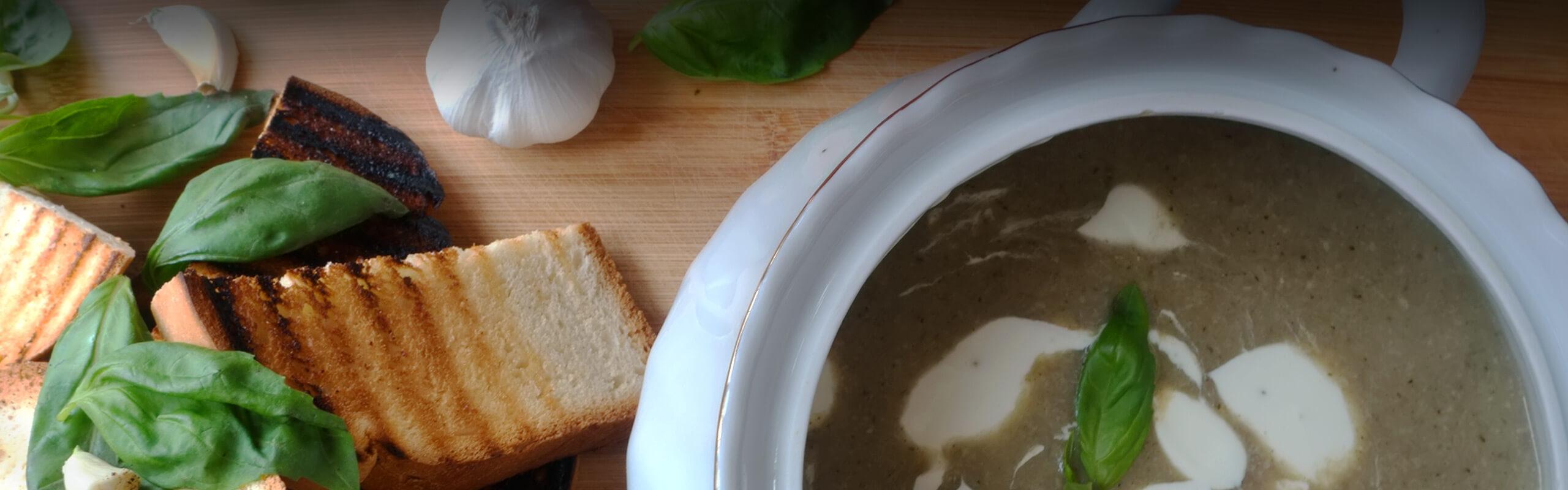 Крем супа от гъби