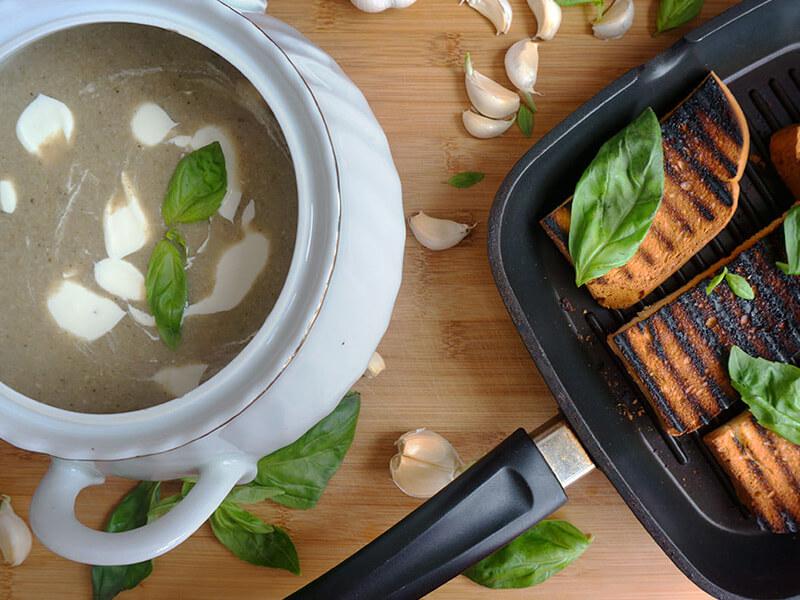 Крем супа от гъби - превю