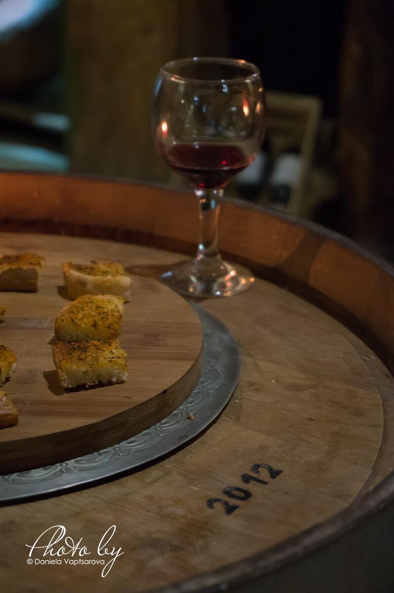 Музей на виното - дегустация