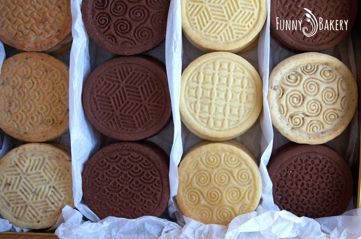 Три вида бисквити – маслени, какаови и орехови_009