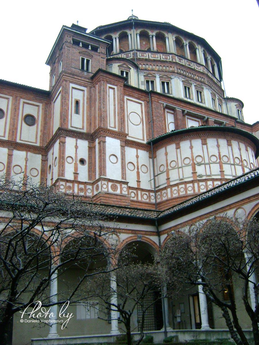 3 дни по италиански - църквата Мария Деле Грацие_001