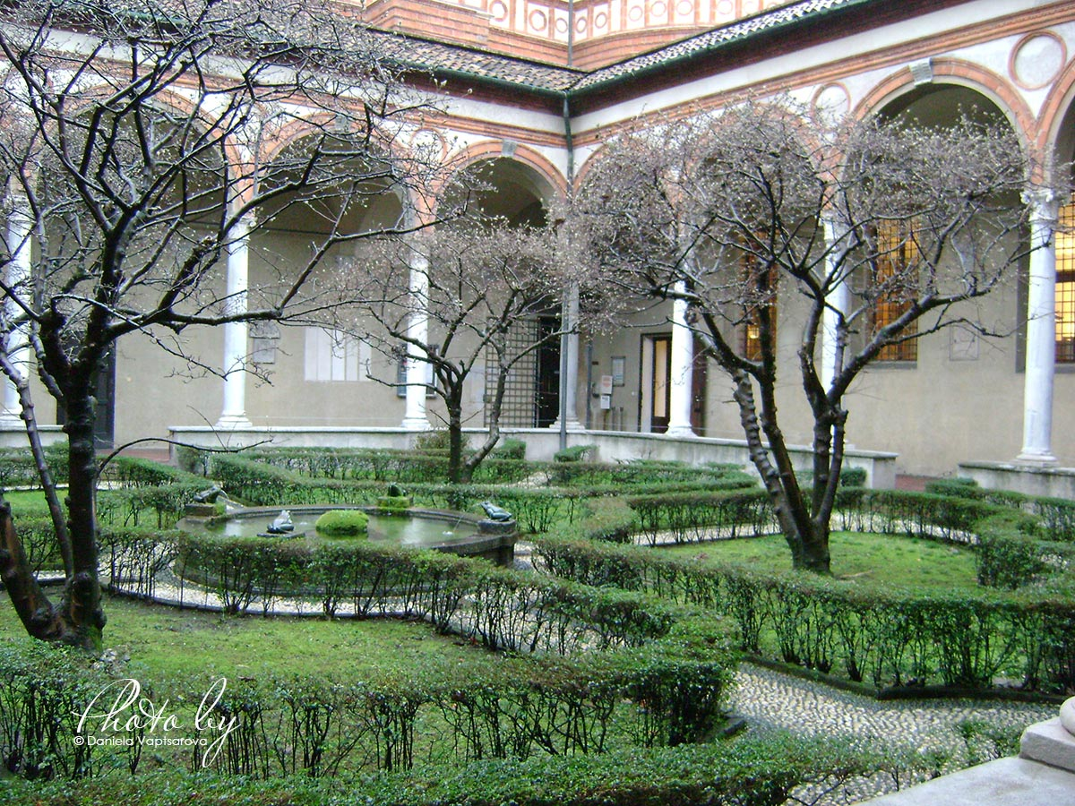 3 дни по италиански - църквата Мария Деле Грацие_004