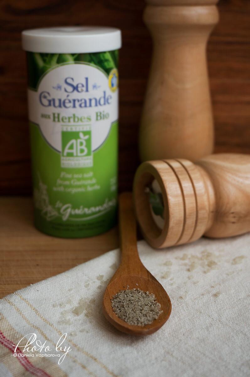 Сива келтска сол с билки - 020