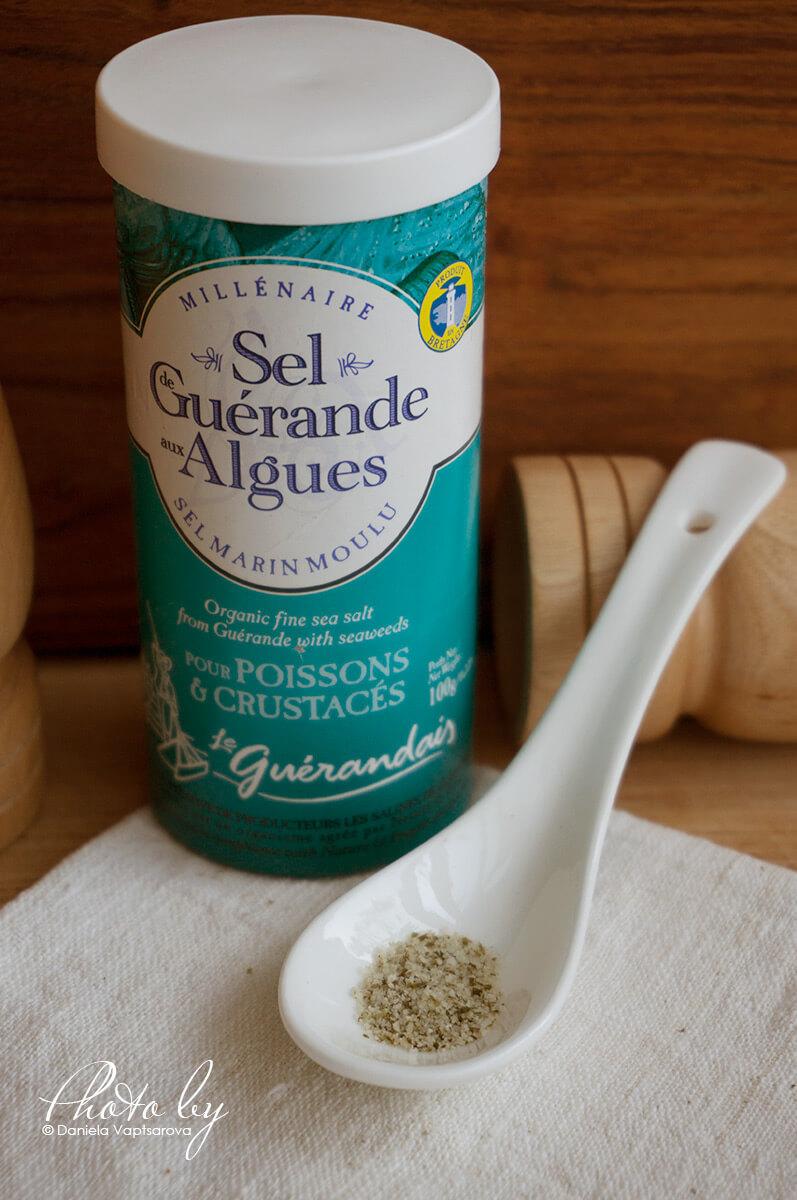 Сива келтска сол с водорасли - 031