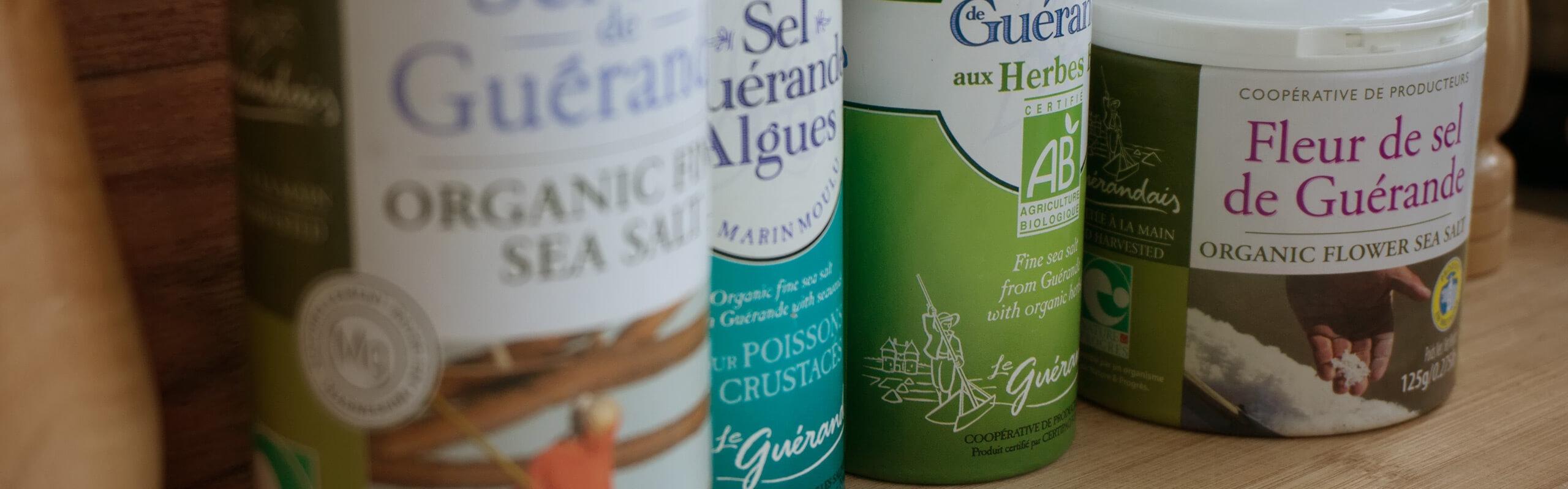 Сива келтска сол от бреговете на Франция