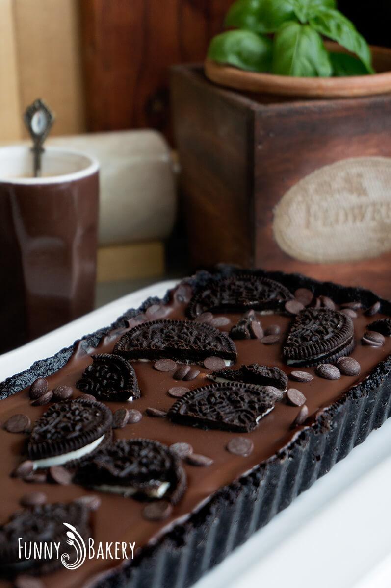 Шоколадов Орео Тарт - 001