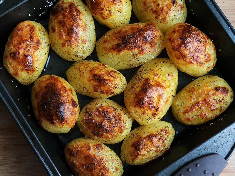 Най-вкусните печени картофи превю