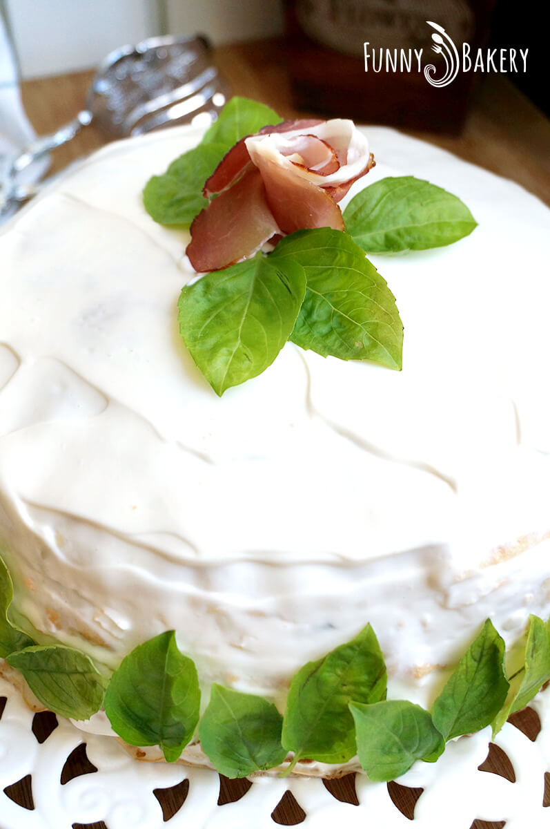 Солена палачинкова торта 03