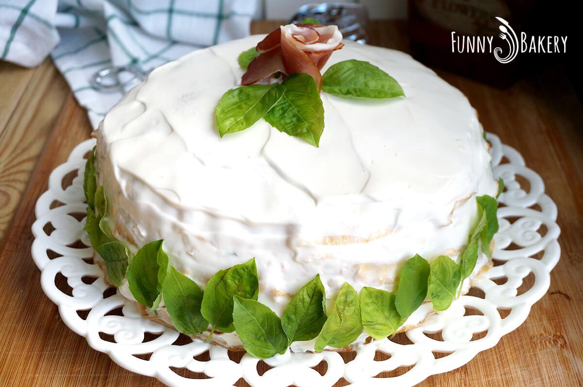 Солена палачинкова торта 06