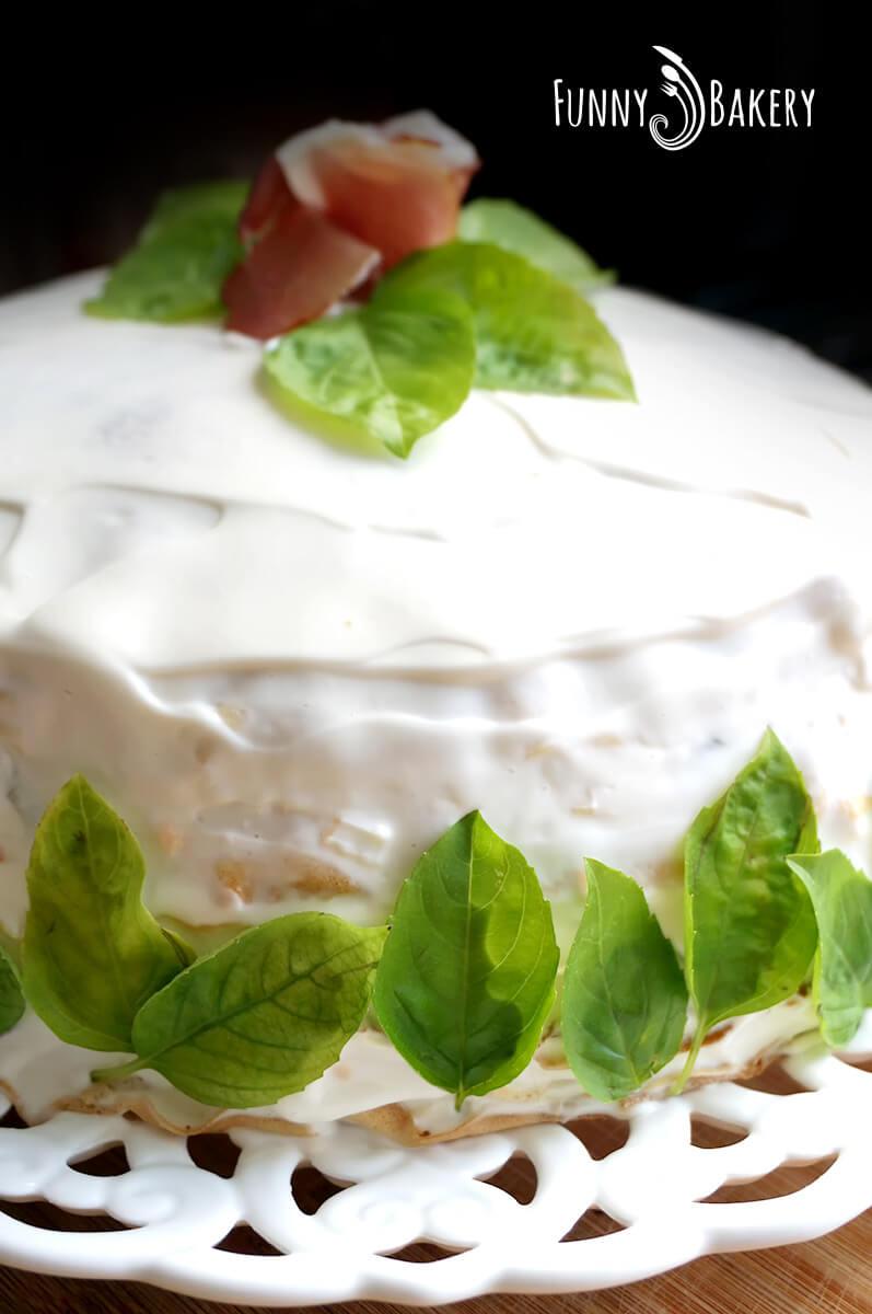 Солена палачинкова торта 07