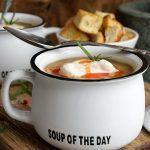 Картофена крем супа с пилешко месо