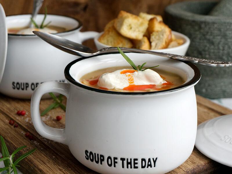 Картофена крем супа с пилешко месо превю