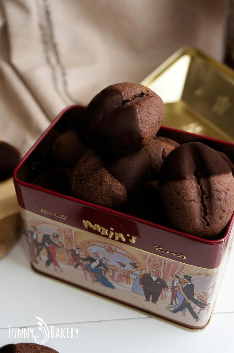 Какаови бисквити с кафе 001