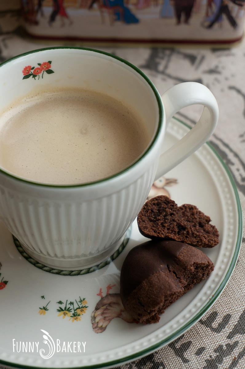 Какаови бисквити с кафе 006
