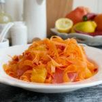 Морковена салата с цитруси