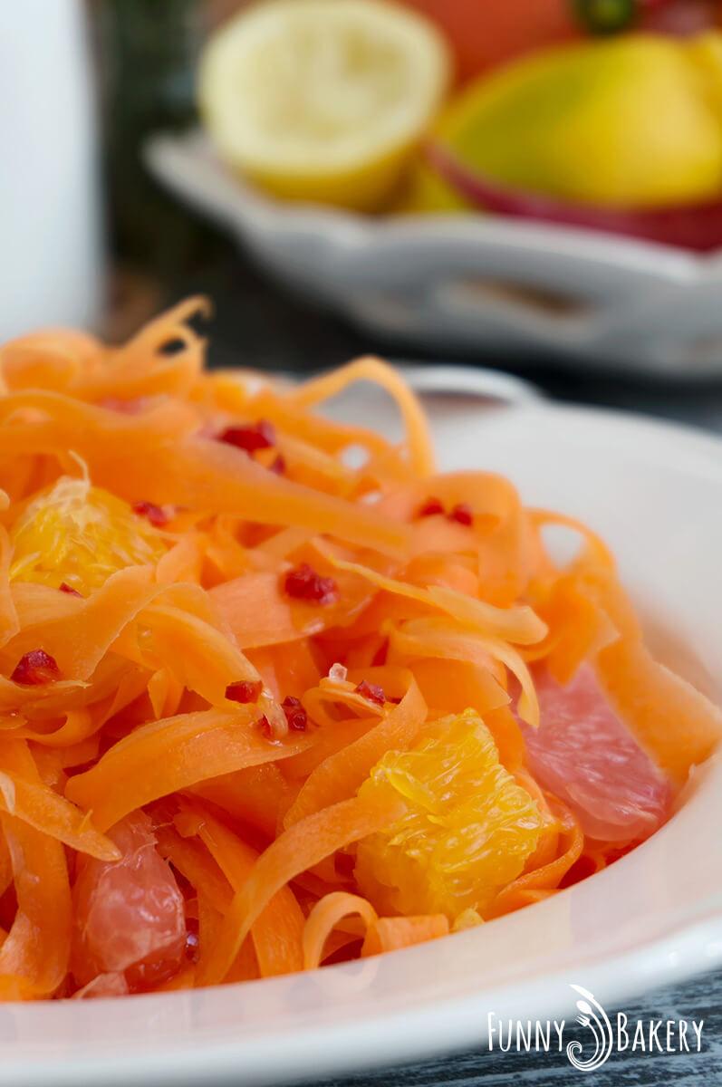 Морковена салата с цитруси 001