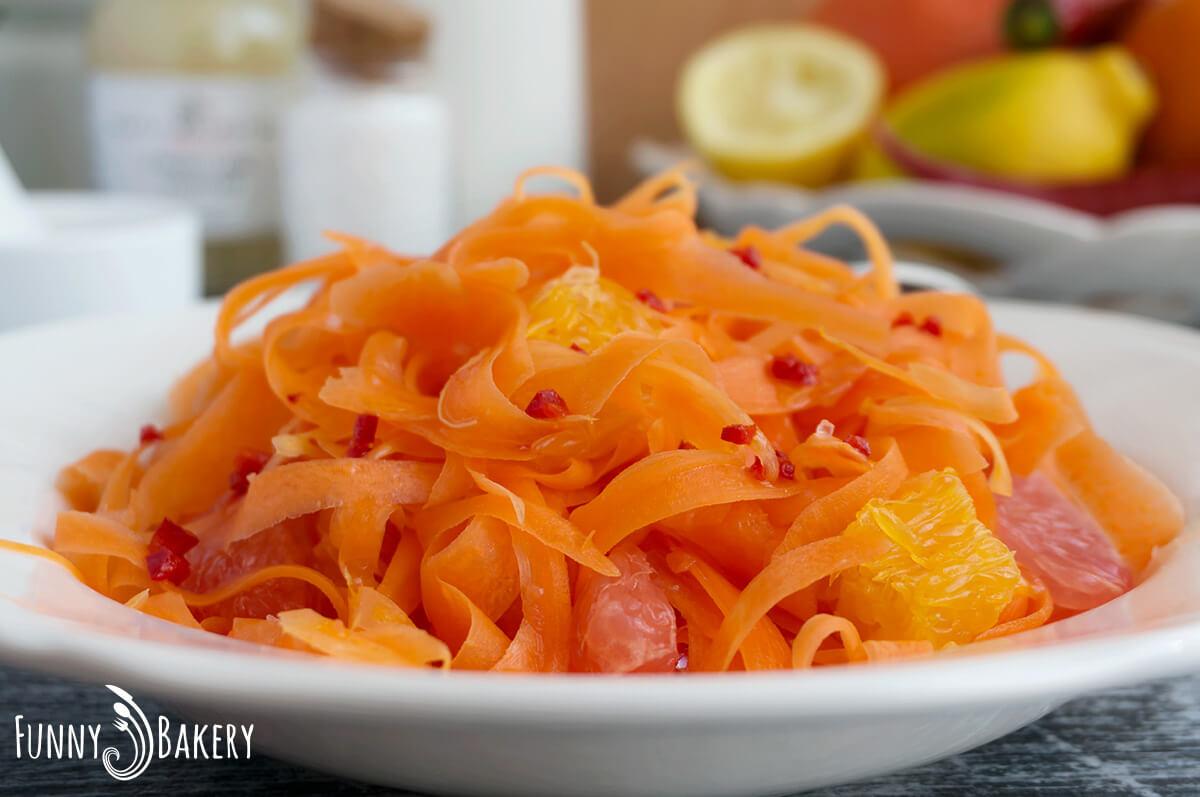 Морковена салата с цитруси 011
