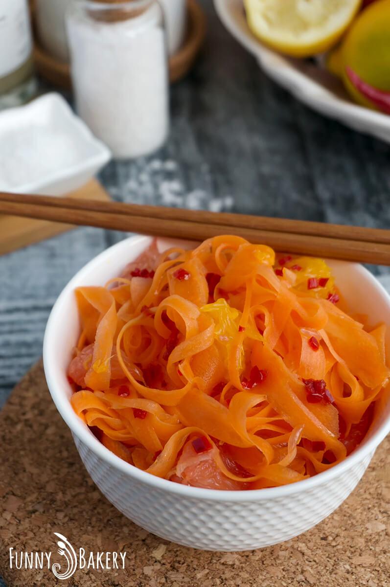 Морковена салата с цитруси 007