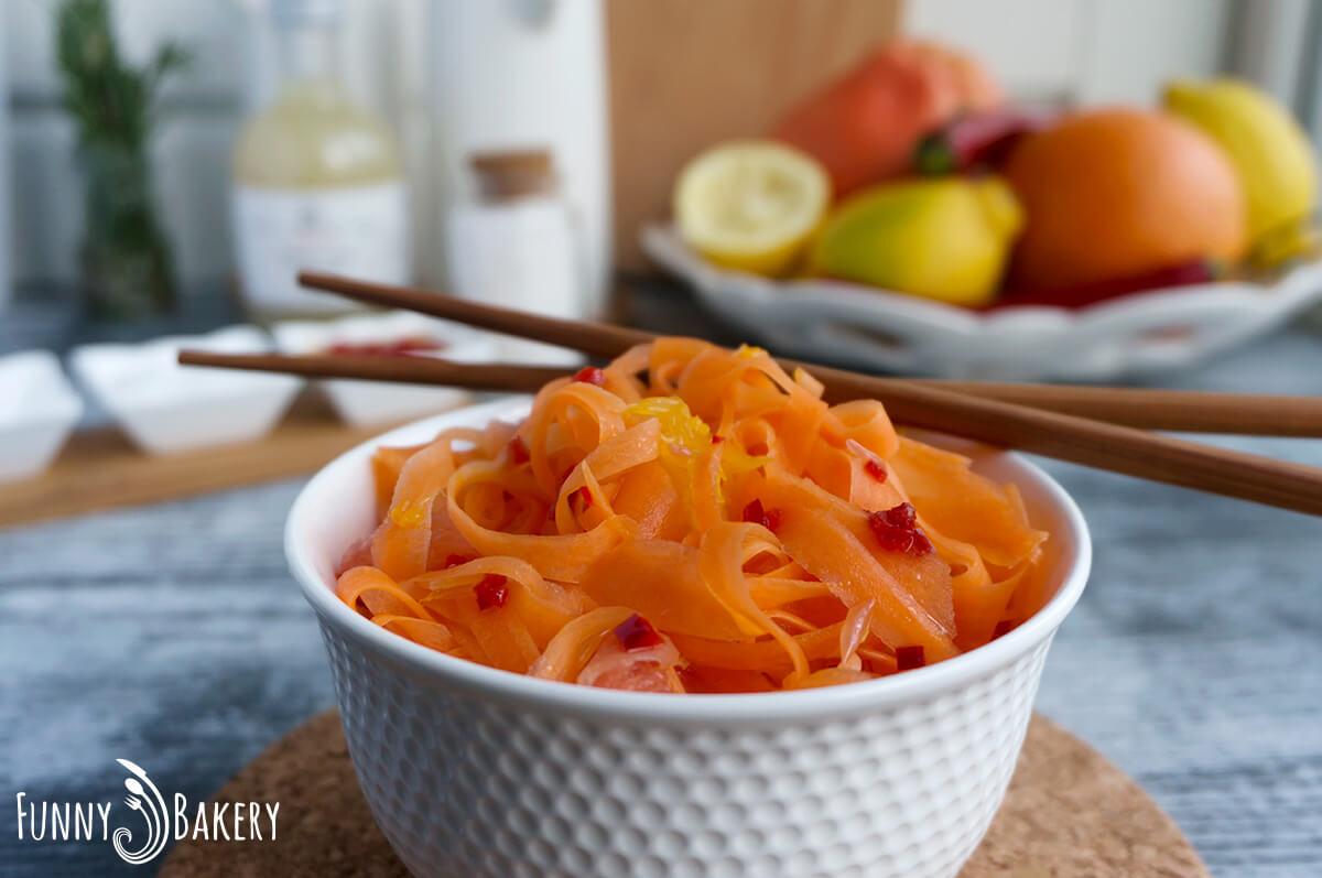 Морковена салата с цитруси 003