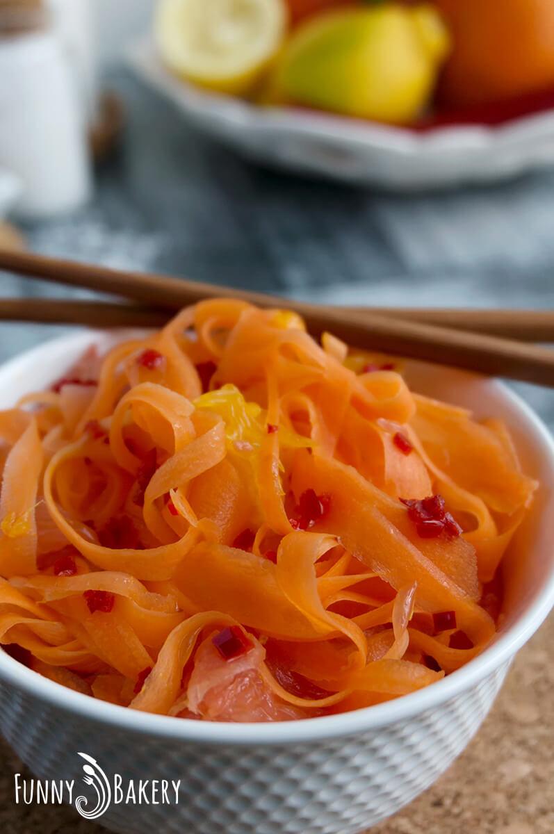 Морковена салата с цитруси 009