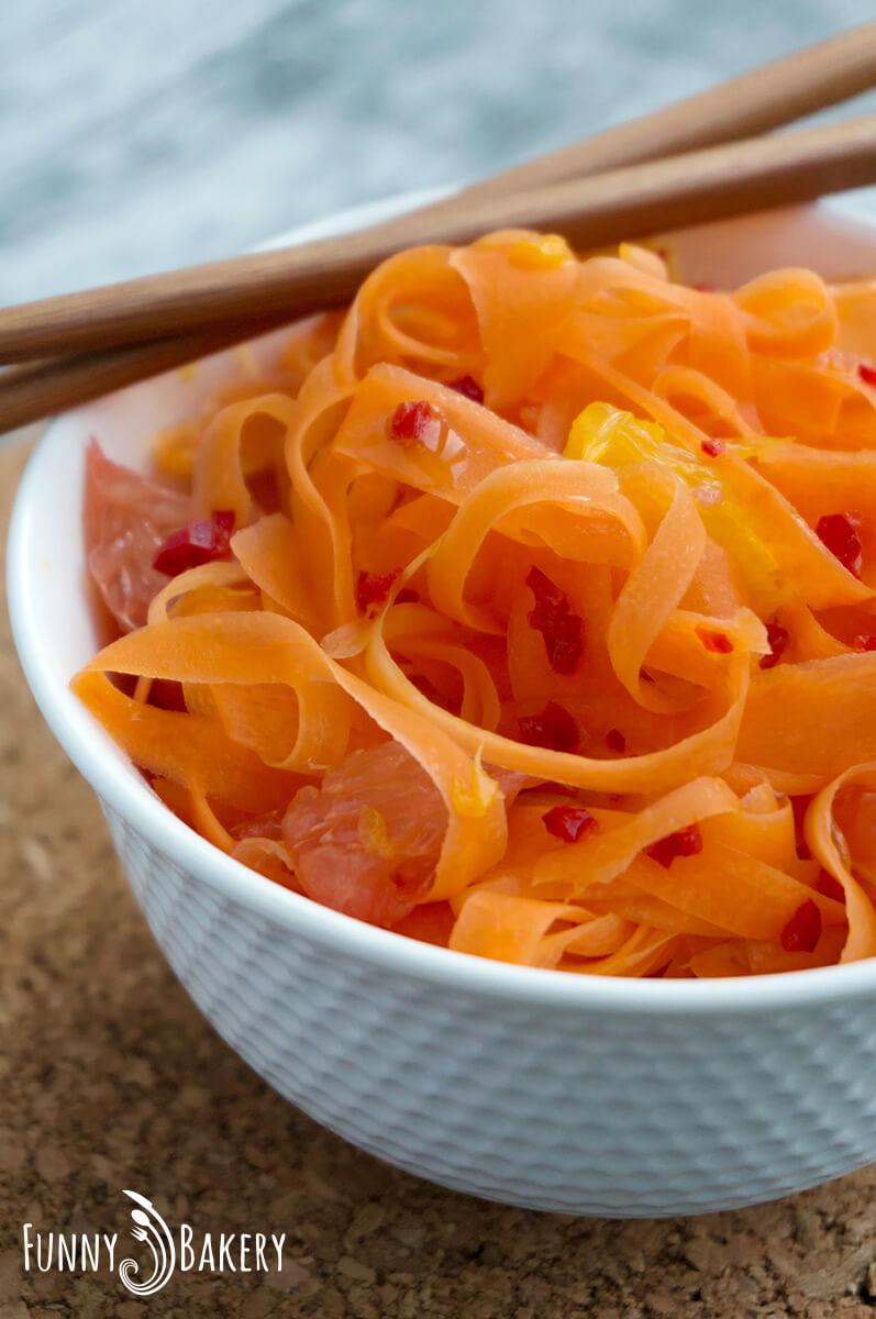 Морковена салата с цитруси 008