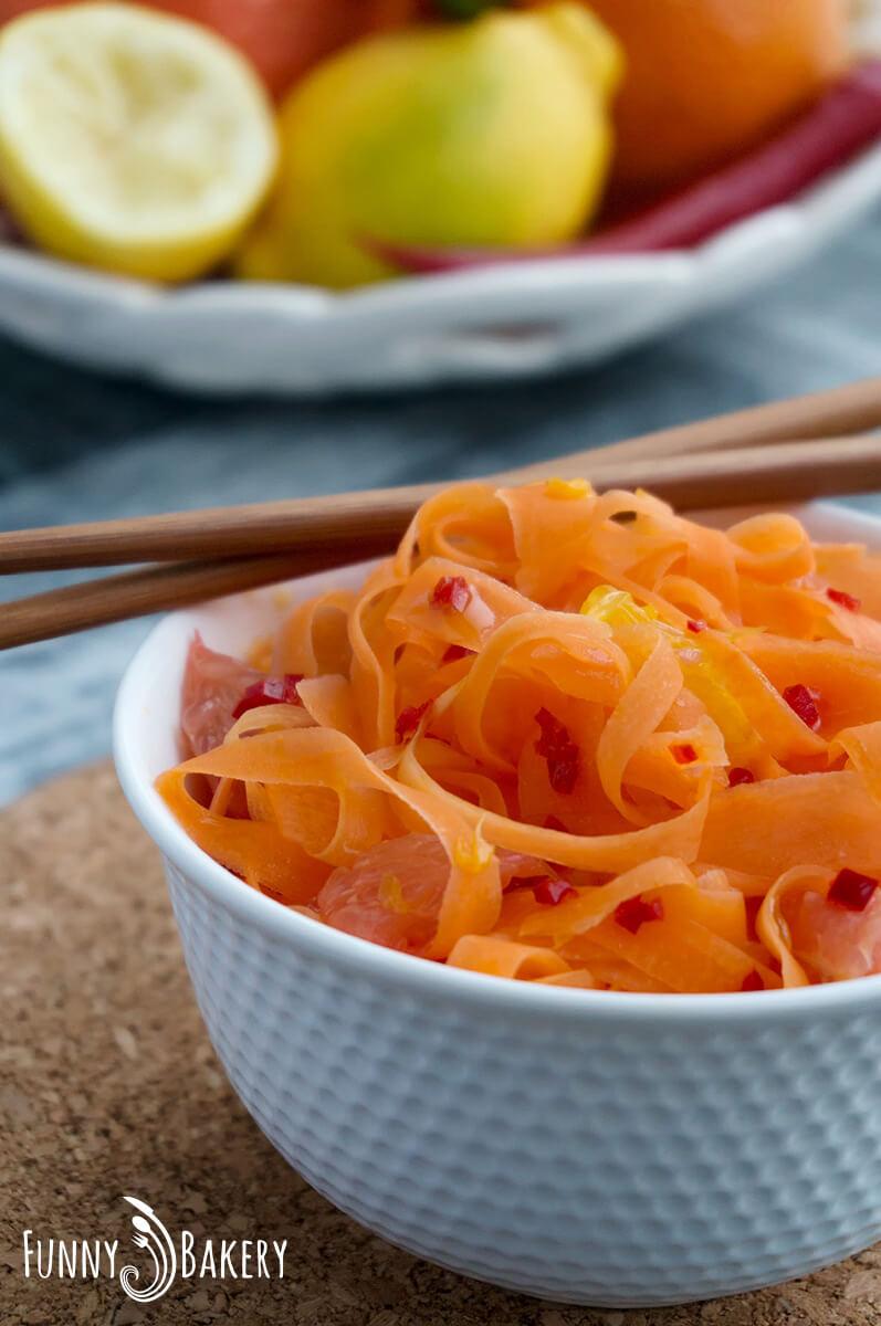 Морковена салата с цитруси 010