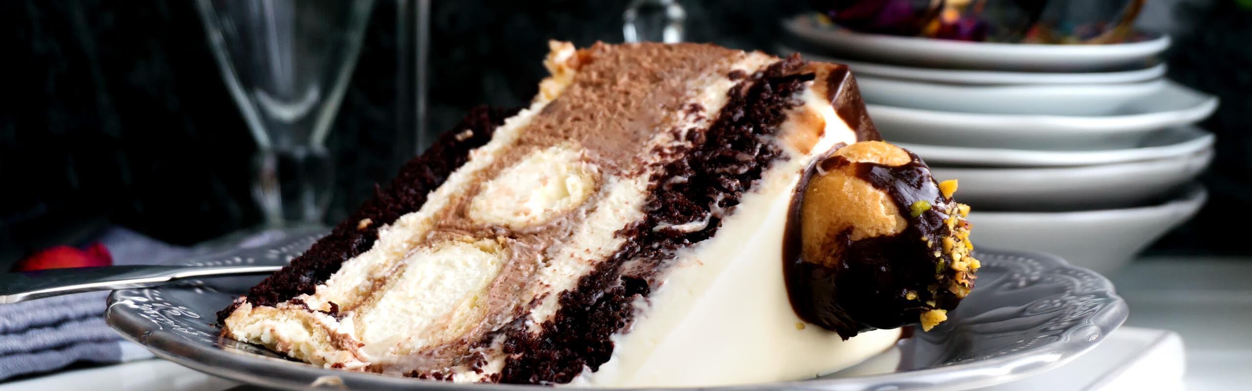 Най-вкусната и съвършенна<br>еклерова торта