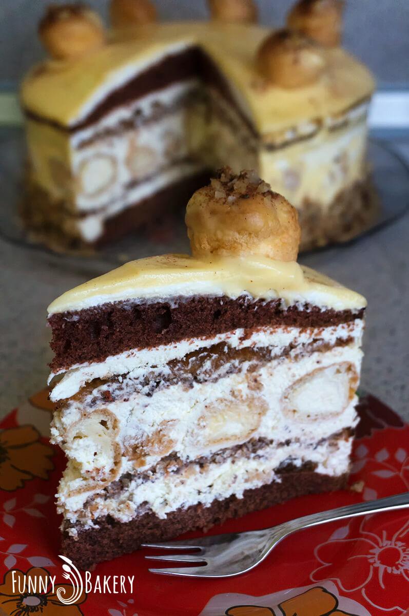 Еклерова торта с ябълки и канела_001