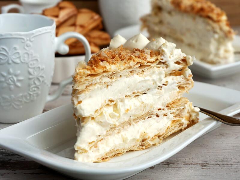 Милфьой или торта Наполеон - превю