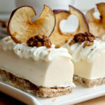 Мини крем тортички с ябълково сладко