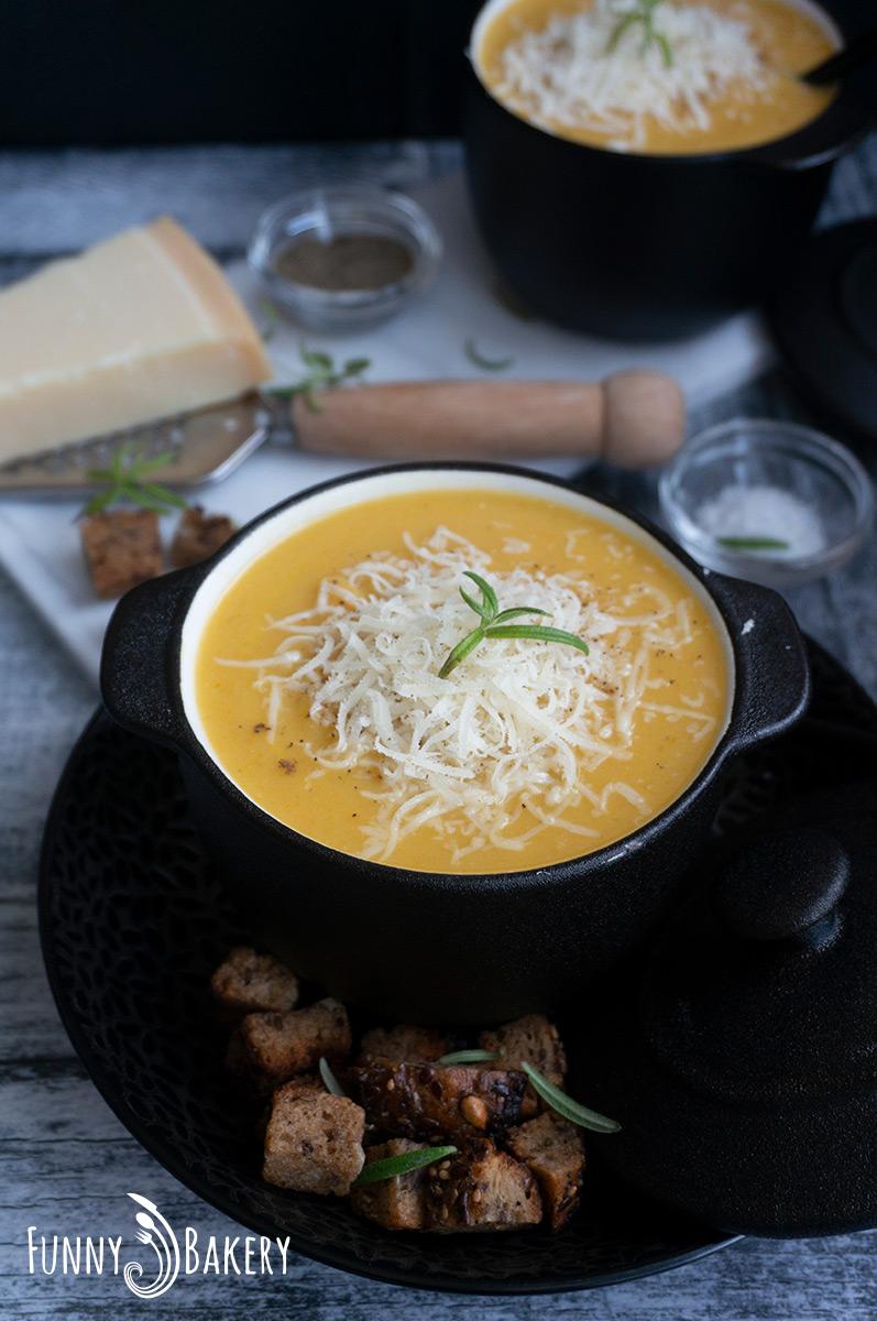 Зеленчукова крем супа 002