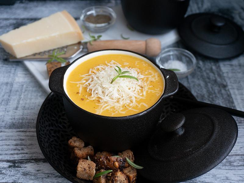 Зеленчукова крем супа превю